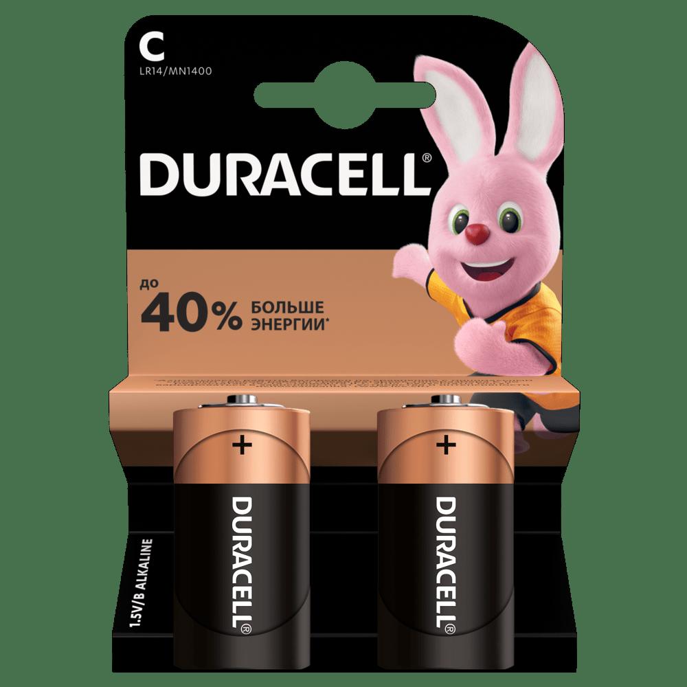 Щелочные батарейки Duracell